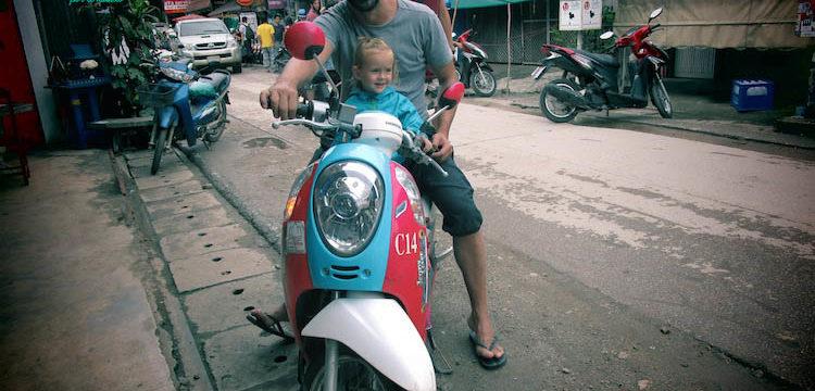 como moverte en pai con niños