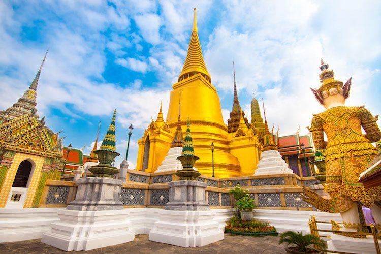 El Gran Palacio Real de Bangkok