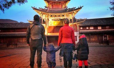 viajar a china con niños