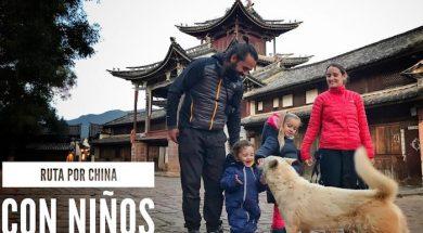 ruta por china con niños